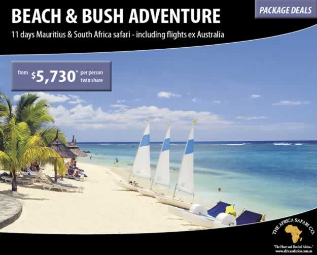 Beach and Bush Adventure