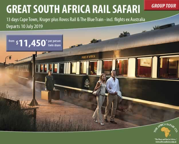 The Great South African Rail Journey