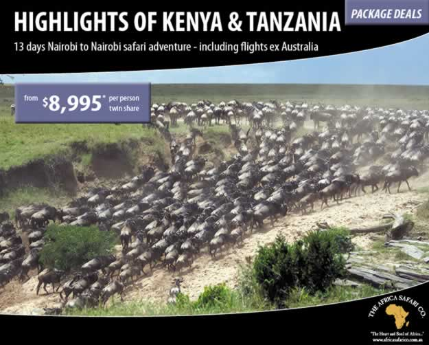 Highlights of Kenya and Tanzania