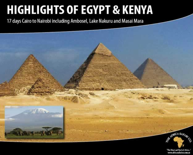 Highlights of Egypt & Kenya