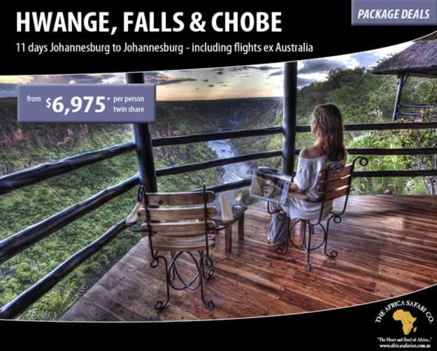 The Hwange, Falls and Chobe Experience