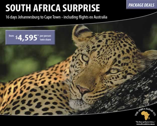 South Africa Surprise