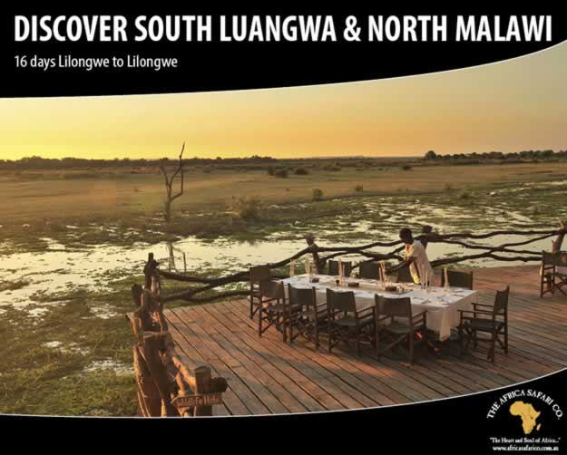 Discover South Luangwa North Malawi