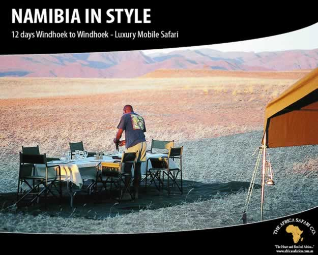 Namibia in Style