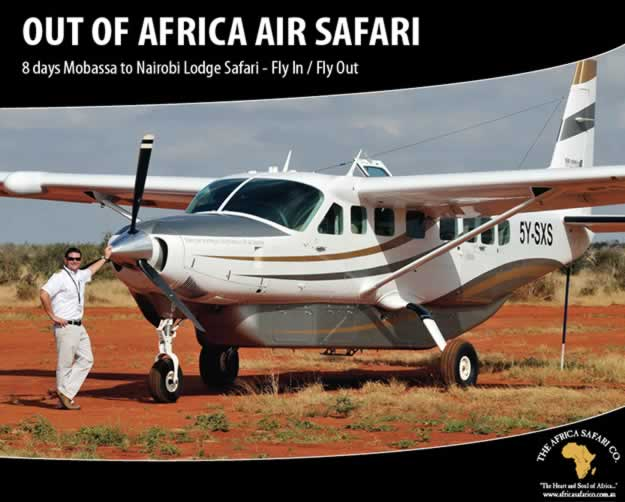 Out of Africa Air Safari