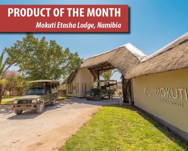 Mokuti Etosha Lodge, Namibia