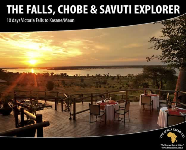 The Falls, Chobe and Savuti Explorer