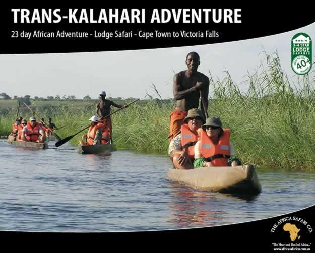 Trans-Kalahari Adventure