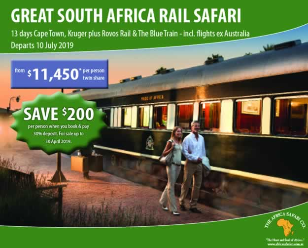 The Great South African Rail Safari