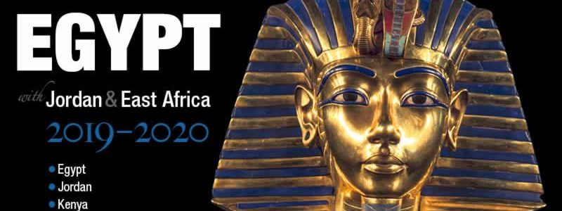 New Release:  Egypt Brochure 2019-20