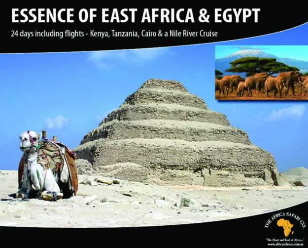 Essence of East Africa & Egypt