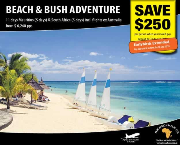 Beach and Bush Adventure