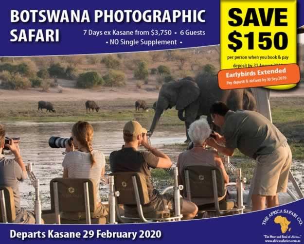 Botswana Photographic Safari 2020