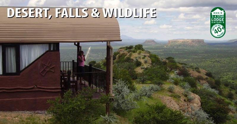 Desert, Falls & Wildlife