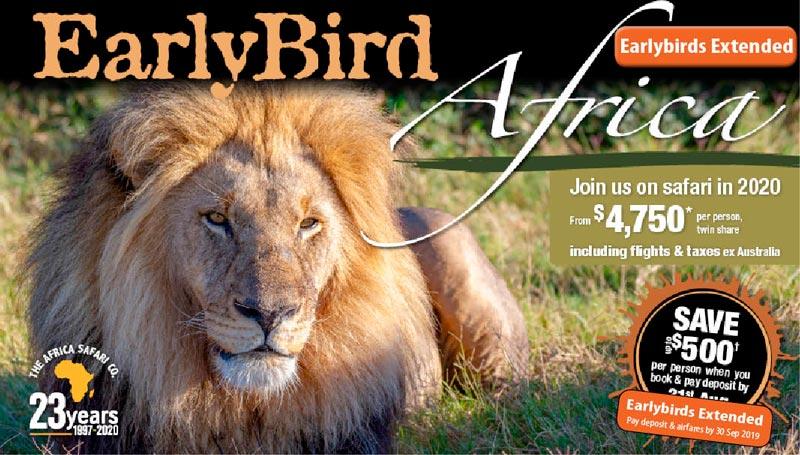 2020 Early Bird Brochure Release