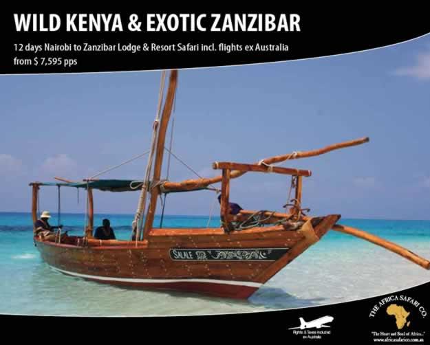 Wild Kenya & Exotic Zanzibar