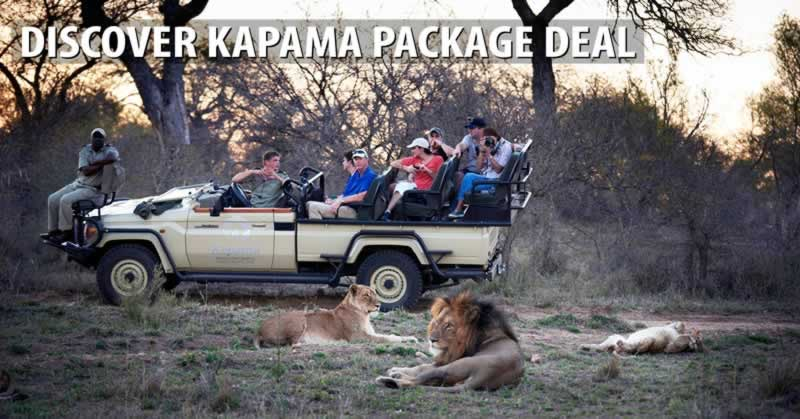Discover Kapama Package Deal