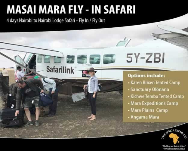 Masai Mara Fly-in Safari