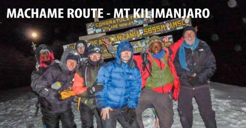 Mt. Kilimanjaro Climb - Machame Route