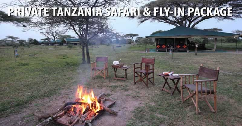 Private Tanzania Safari & Fly In Package
