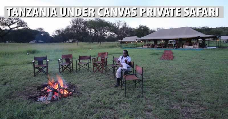 Tanzania Under Canvas