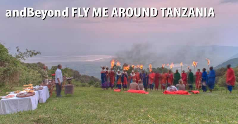 &Beyond Fly Me Around Tanzania