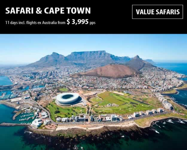 Safari and Cape Town