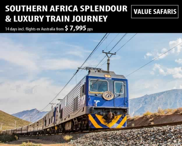 Southern Africa Splendour & Luxury Train Journey