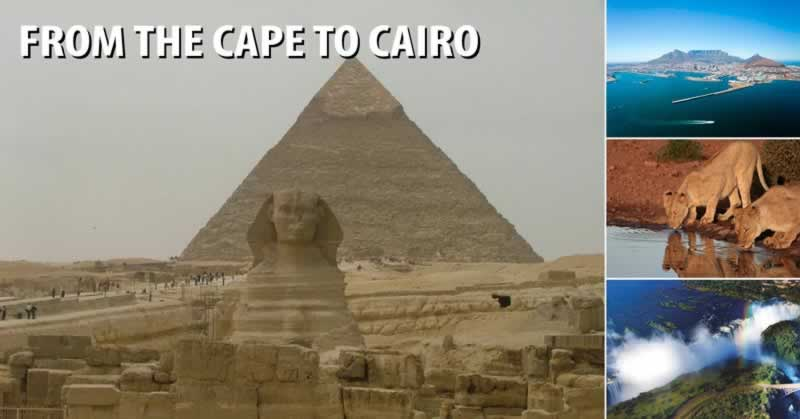 From the Cape to Cairo