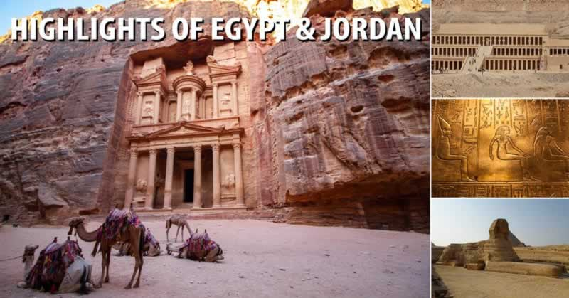 Highlights of Egypt & Jordan