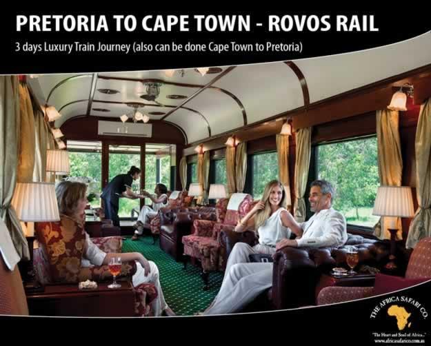 Rovos Rail - Pretoria to Cape Town