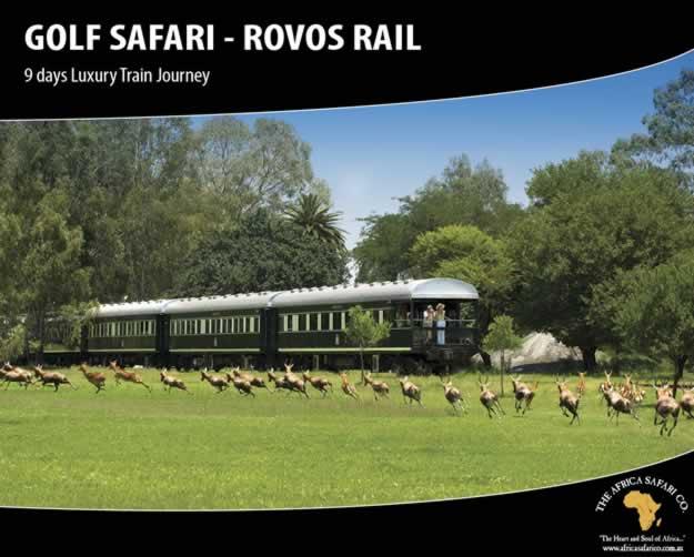 Rovos Rail - Golf Safari