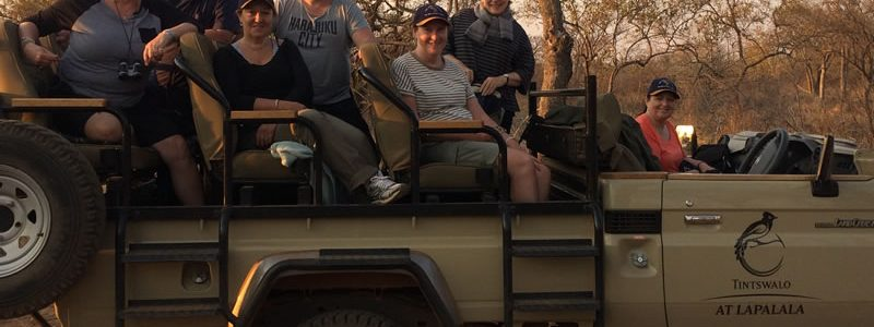 Karen visits Tintswalo Lapalala, South Africa