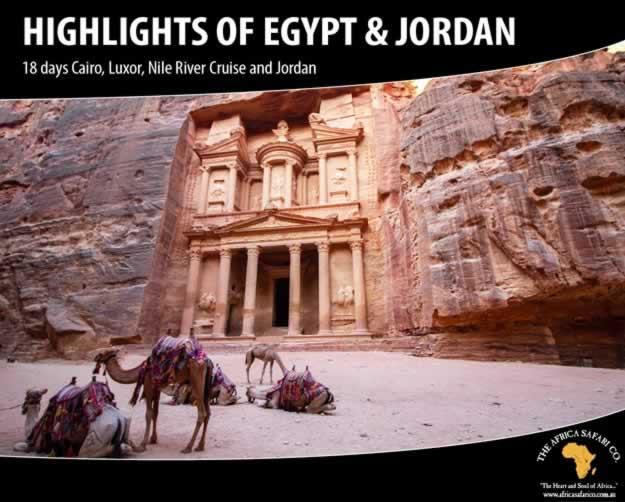 Highlights of Egypt & Jordan