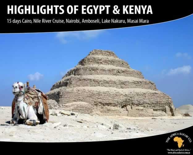 Highlights of Egypt & Kenya