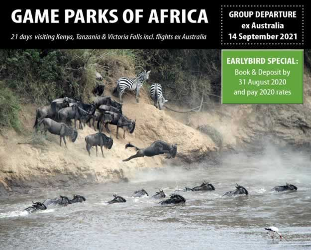 Game Parks of Africa 2021