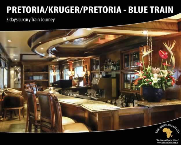 Blue Train - Pretoria/Kruger/Pretoria
