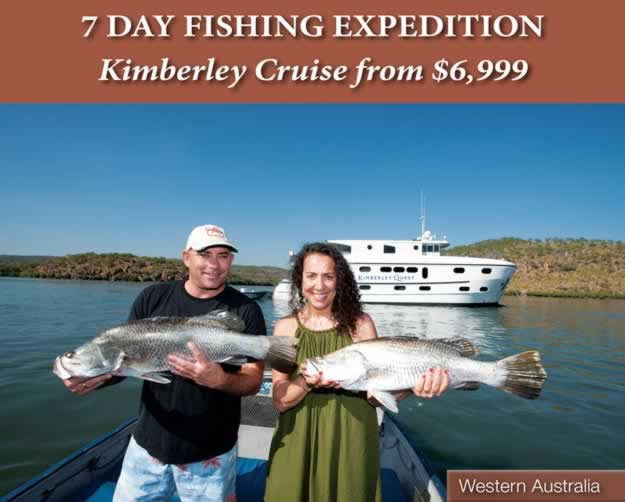 7 Day Kimberley Fishing Cruise