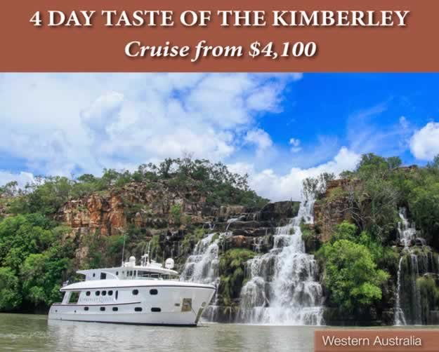 4 Day Taste of the Kimberley Cruise