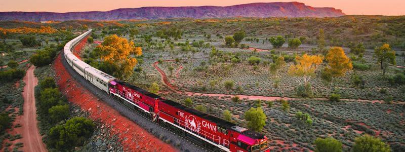 Australian Train Journeys