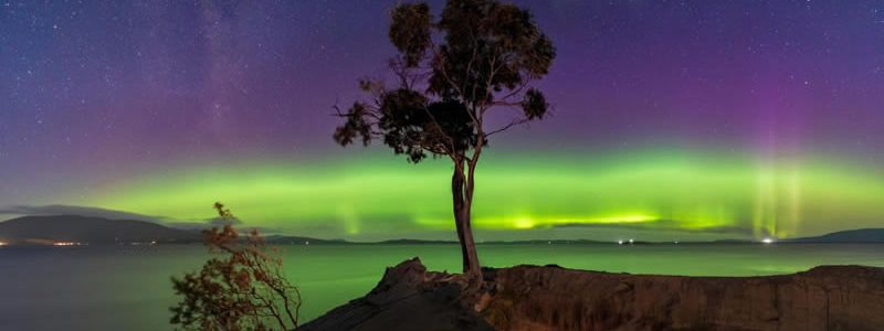 Search for the Southern Lights