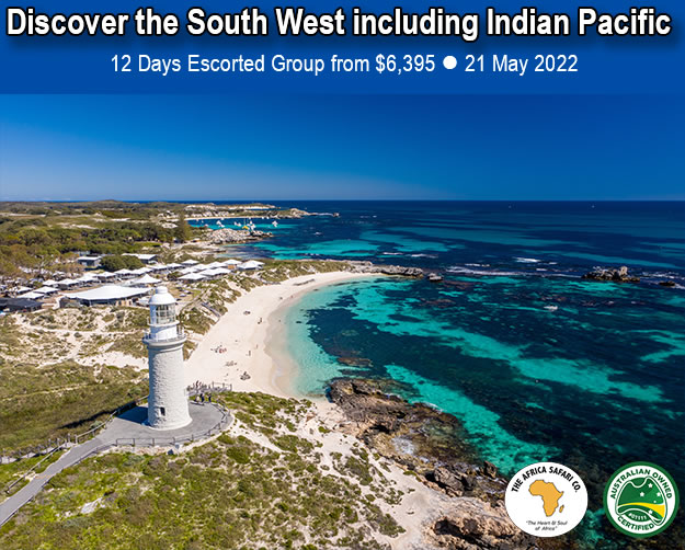 Discover the South West including Indian Pacific