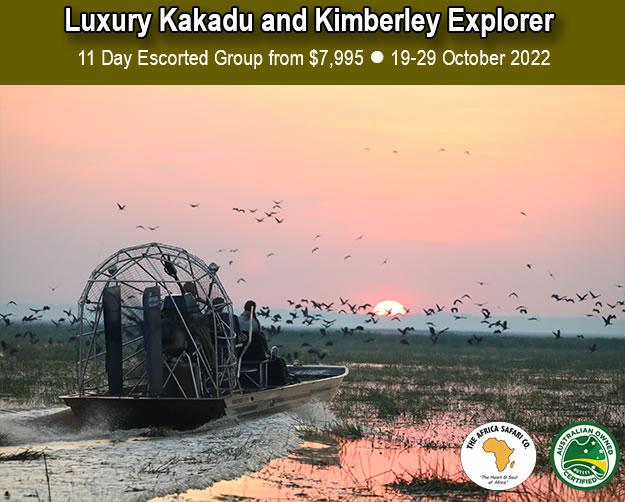 Luxury Kakadu and Kimberley Explorer