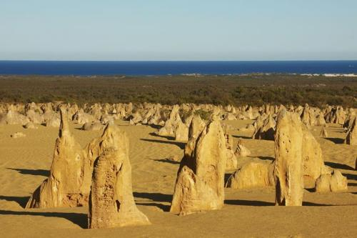 The Pinnacles, Nambung National Park<br>Credit: Tourism Western Australia