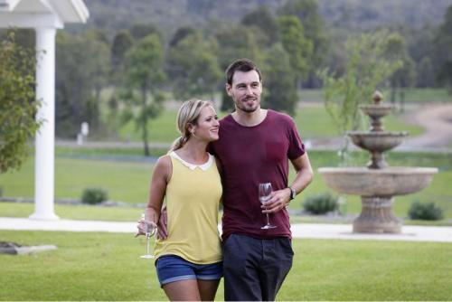 Leogate Estate, Hunter Valley Wine Region.<br>Credit: Destination NSW