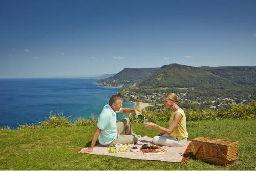 Stanwell Tops Lookout, Royal National Park.<br>Credit: Destination NSW