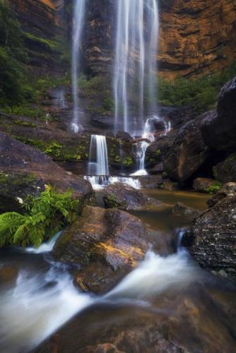 Wentworth Falls, Blue MountainsCredit: Destination NSW