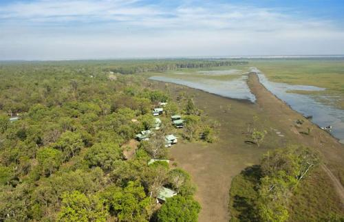 Aerial of Lodge<br>Photo: Tourism Northern Territory