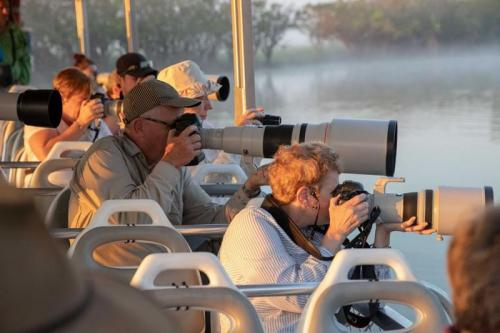 Boating Photography<br>Credit: Luke Paterson, NT Bird Specialists