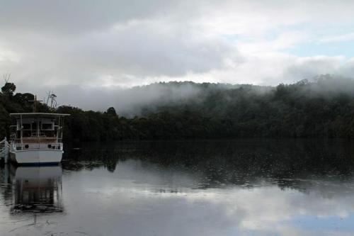 Cruise the Pieman River at Corinna